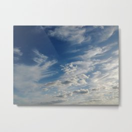 It's a lot of clouds Metal Print