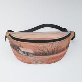 Hudson Cabin Pioneers Park Fanny Pack