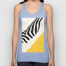 Zebra Abstract Unisex Tank Top