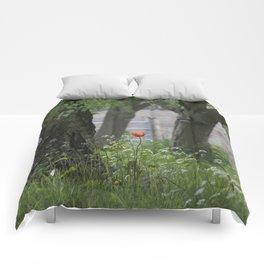 Lonely Tulip Comforters