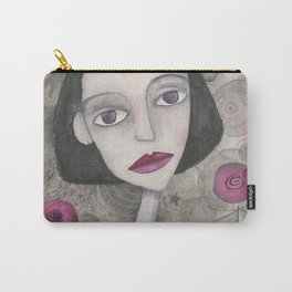 Helena & flowers Carry-All Pouch