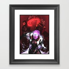 Take Back Omega Framed Art Print
