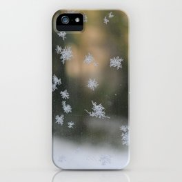 "It's frosty ""Ice Flower"" #1 #art #society6 iPhone Case"