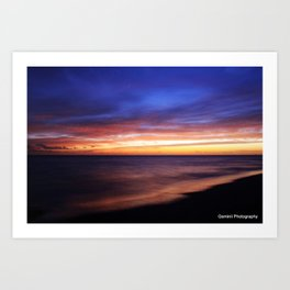 Bermuda Sunset Art Print