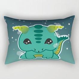 Kawaii Baby Dragon Rectangular Pillow