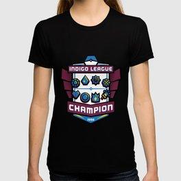 Indigo League Champion - Blue Version T-shirt