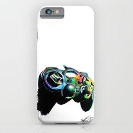 Gamepad fluorescente playstation iPhone Case