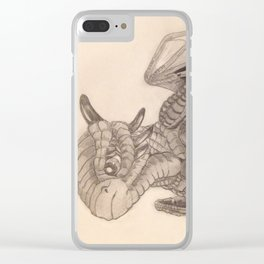 Baby Dragon Clear iPhone Case
