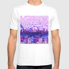 London Mens Fitted Tee MEDIUM White