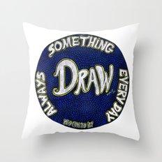 DRAW | Motivational Mandala Throw Pillow