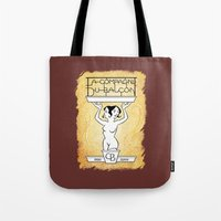 theatre Tote Bags featuring Theatre logo by Robin Guinin