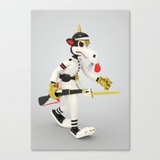 War Rat Canvas Print