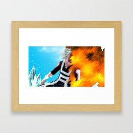 Katsuki Bakugou v2 Framed Art Print