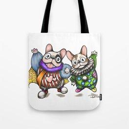 Fun Frenchies Tote Bag
