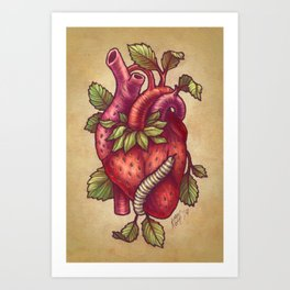 Organ-ic Art Print