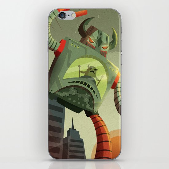 RoboMonsters iPhone & iPod Skin