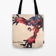 I Am Legendary Y- Geometric Tote Bag