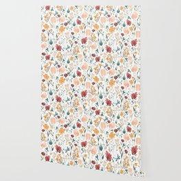 Deep Florals Wallpaper