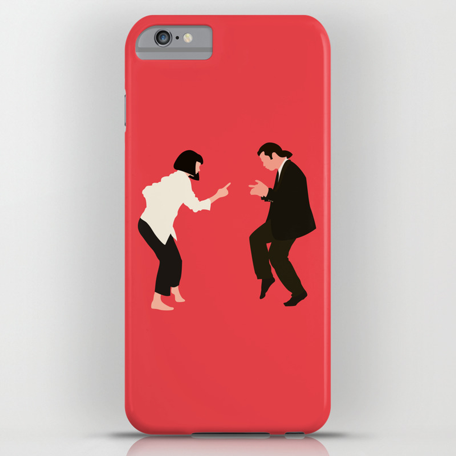 Pulp Fiction Framed iphone case