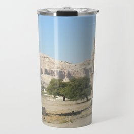 The Clossi of memnon at Luxor, Egypt, 2 Travel Mug