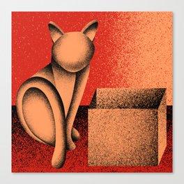 Soon (Electric Catnip) Canvas Print