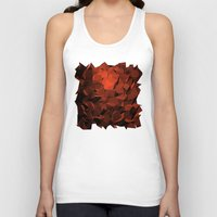 polygon Tank Tops featuring Polygon 10 by Jambot