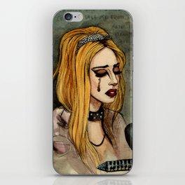 Princess Die iPhone Skin