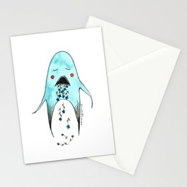 Tired Monster Stationery Cards