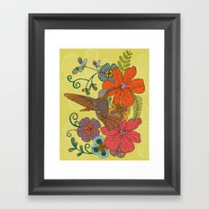 Humming Heaven Framed Art Print