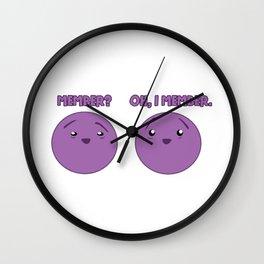 member? oh, i member. Wall Clock