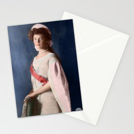 Tatiana Romanov - 1910 Colorized Stationery Cards