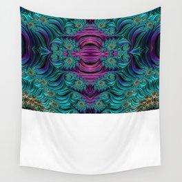 Aqua Swirl 2 Wall Tapestry