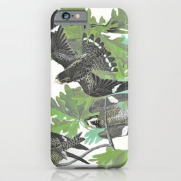 Night Hawk - John James Audubon iPhone Case