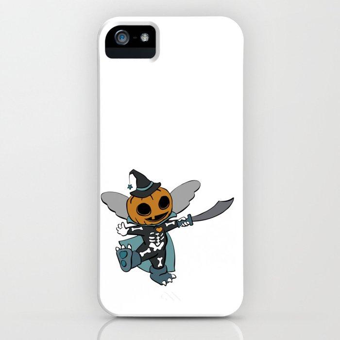 Halloween Pumpkin Costume Blues Orange iPhone Case