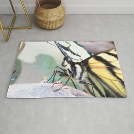 Watercolor Butterfly, Swallowtail Butterfly 06, Cucumber Falls, Pennsylvania Rug