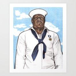 Doris Miller - Waco52 Exhibition Art Print