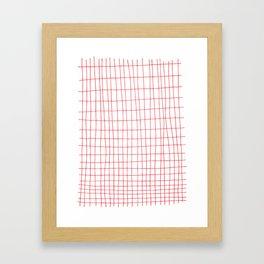 Maths Grid Framed Art Print