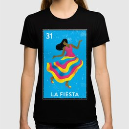 The Party Mexican Loteria Bingo Card T-shirt