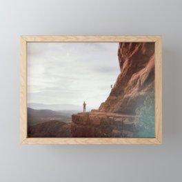 On the Edge Framed Mini Art Print
