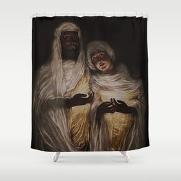 The Apparition by Jeanpaul Ferro Shower Curtain