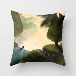 B.A.D. Throw Pillow