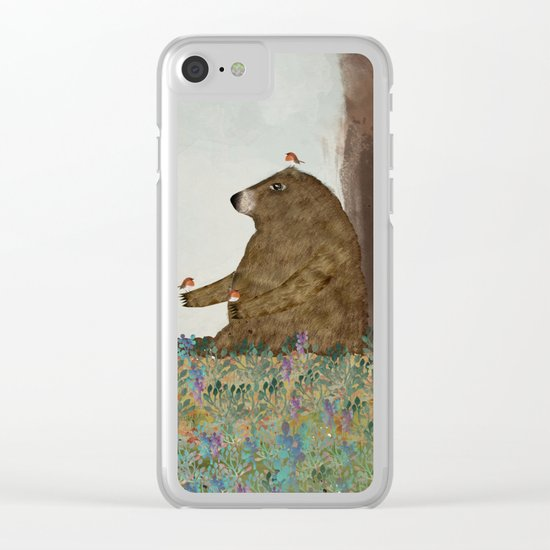 Afternoon Song Clear iPhone Case