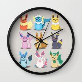 Evolution Bobbles Wall Clock