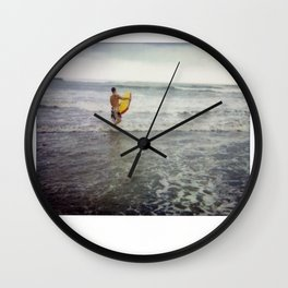 Costa Rica Polaroid #35 Wall Clock