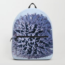 Monochrome - Starry night on the thistle globe Backpack