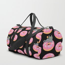 My cat loves donuts 2 Duffle Bag