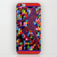 onward iPhone & iPod Skins featuring Onward and Upward by Ana Lillith Bar