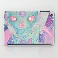mermaid iPad Cases featuring Mermaid by lOll3