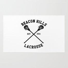 beacon hills lacrosse logo Rug