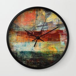 Heat Wave Wall Clock
